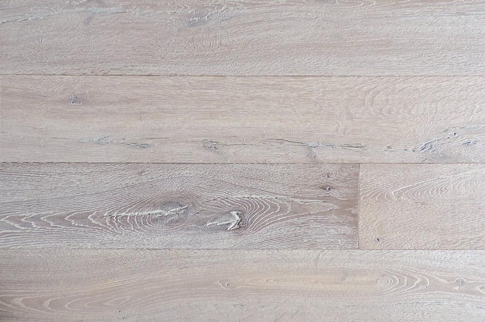 Engineered Parquet Floor Glued Oak Oiled Double Smoked Oil