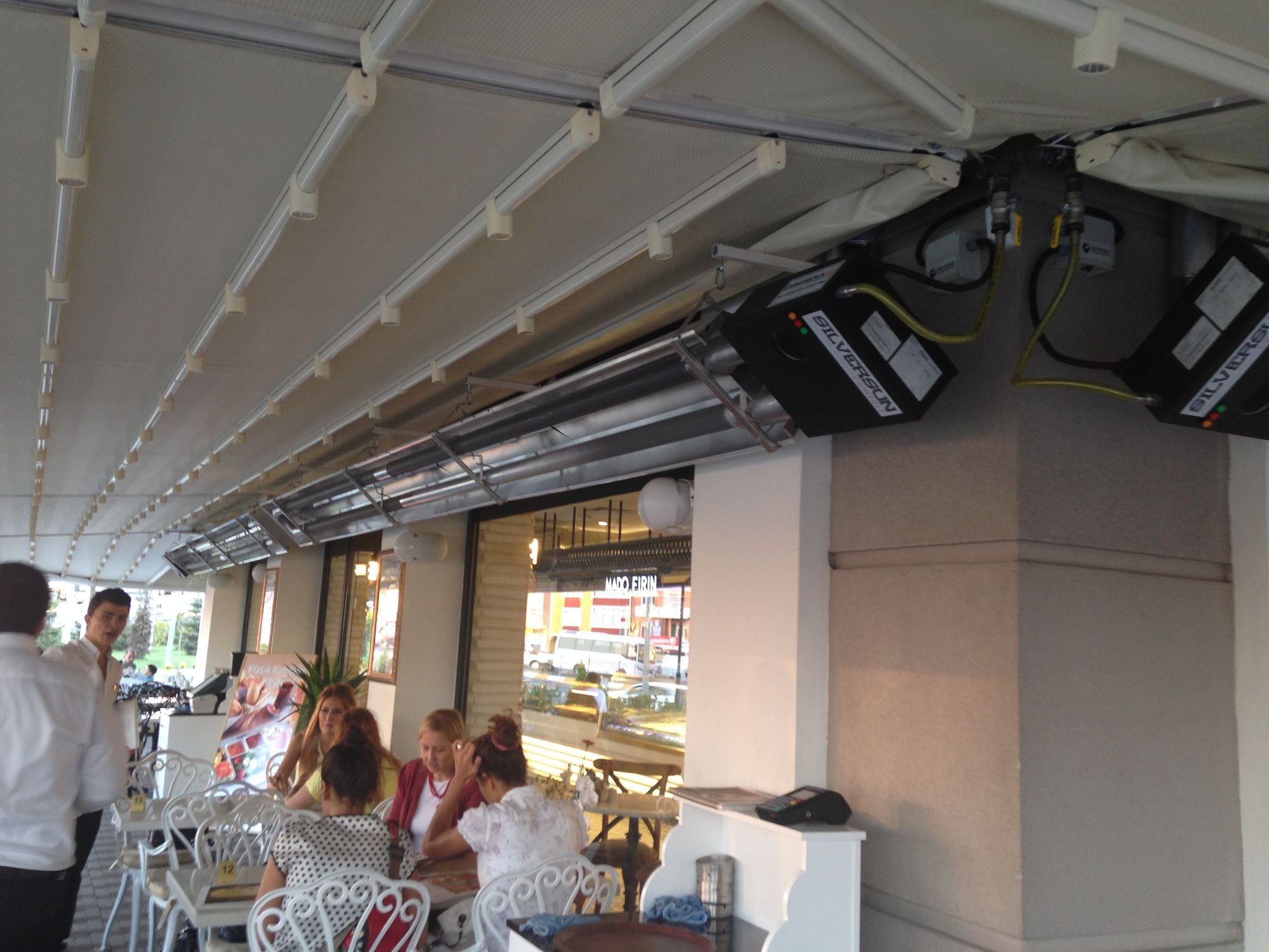 Hanging Infrared Heater / Ceiling / Gas / Commercial SILVERSUN COMFORT  Cukurova Heating Systems ...