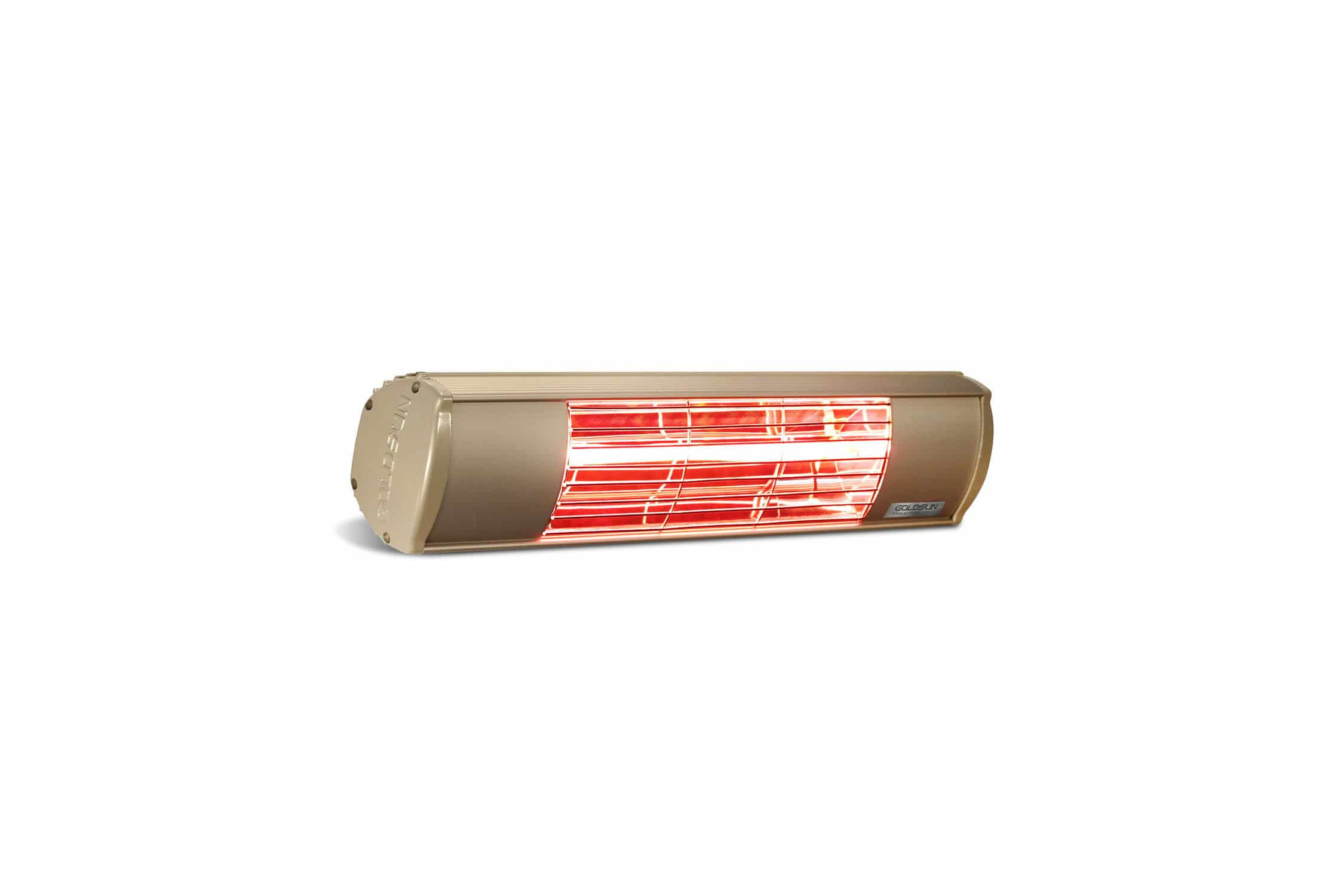 Wall-mounted infrared patio heater / floor-mounted / electric - AQUA ...