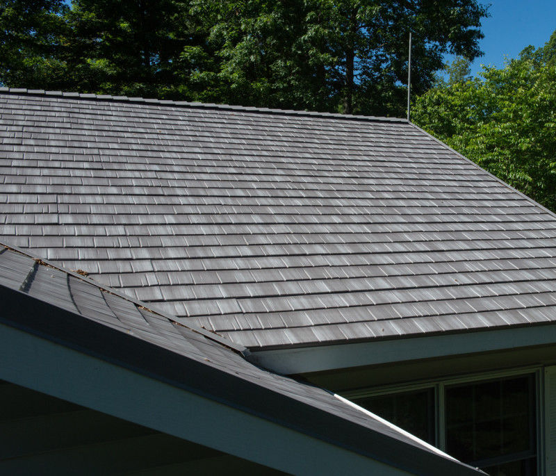 Metal Shingle / For Roofs SHAKE : SHOREWOOD MATTERHORN METAL ROOFING ...