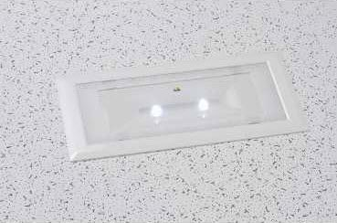 Recessed emergency light wall mounted rectangular led recessed emergency light wall mounted rectangular led exiway schneider electric mozeypictures Gallery