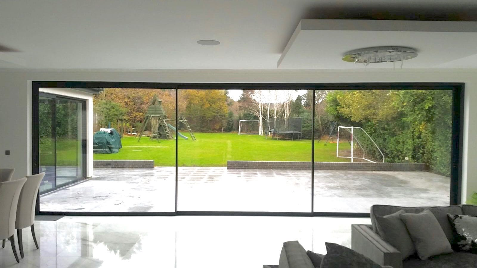 Sliding Patio Door Aluminum Double Glazed Triple Glazed