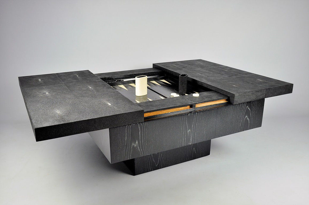 Contemporary Backgammon Table Residential Tb349 St Ch