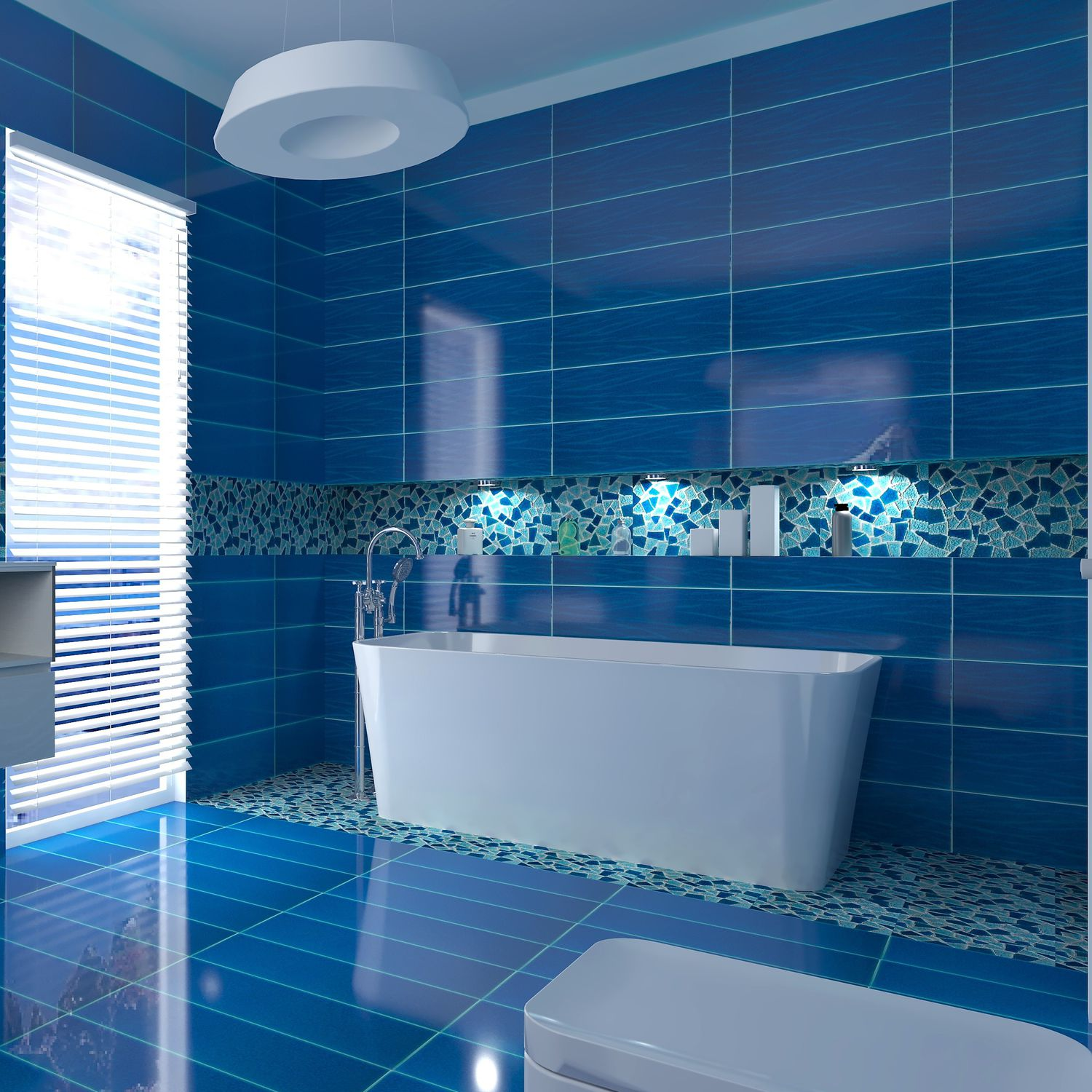 Bathroom tile / wall / for floors / ceramic - CRAKL.È : OCEANI ...