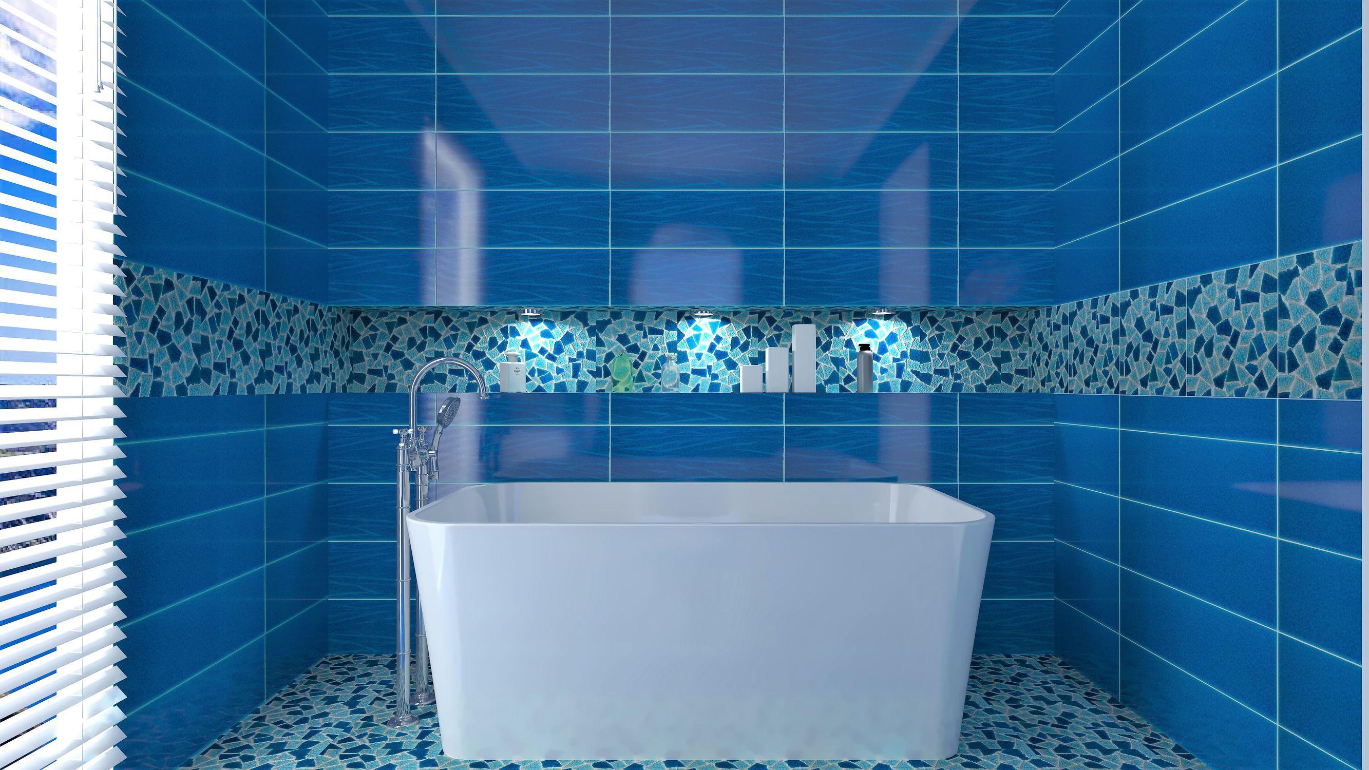 Bathroom tile / wall / for floors / ceramic - CRAKL.È : OCEANI ...