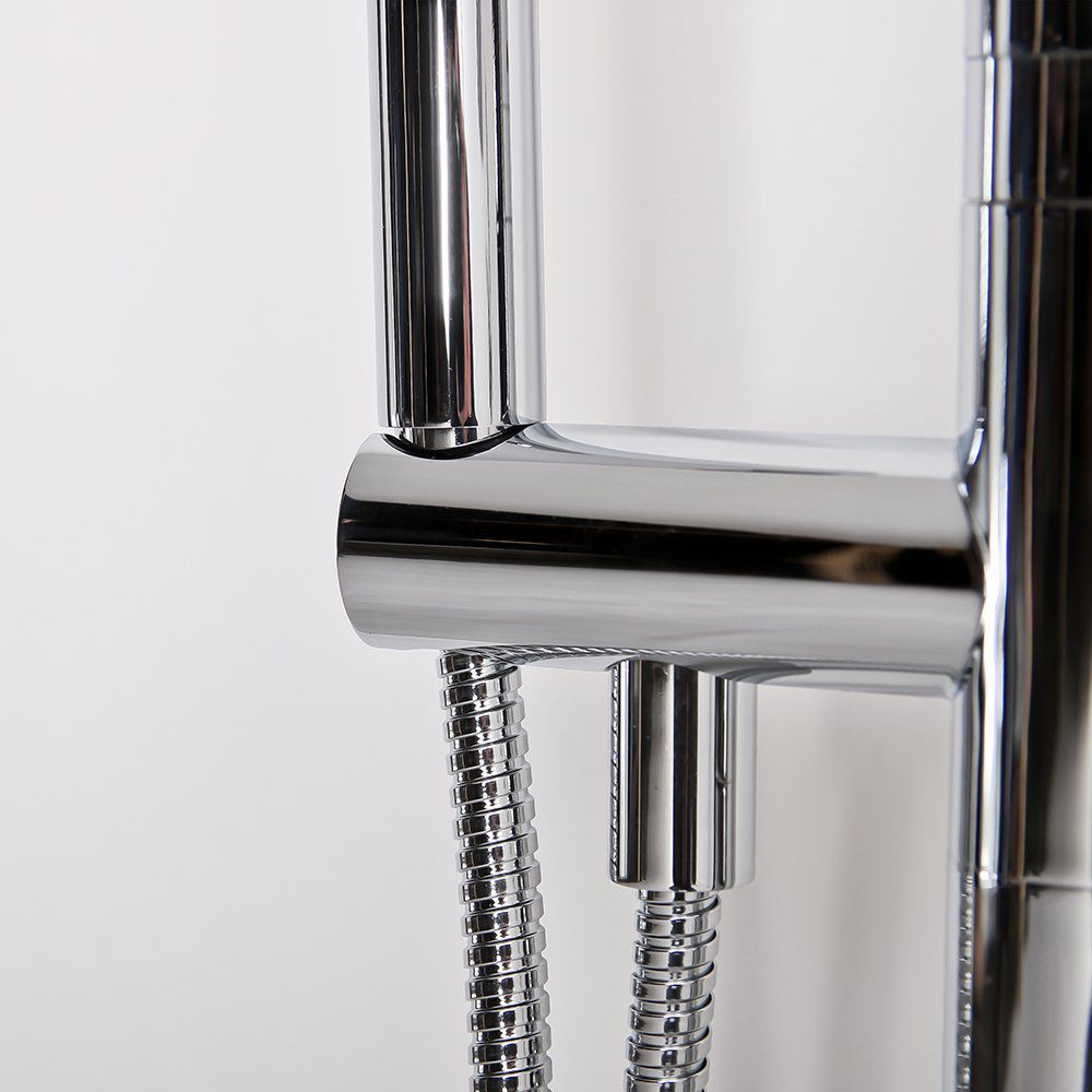 ... Bathtub Mixer Tap / Shower / Floor Mounted / Chrome Plated Brass ...