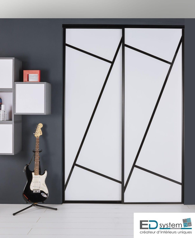 Closet Door Sliding Glass Laminate Puzzle Ed System