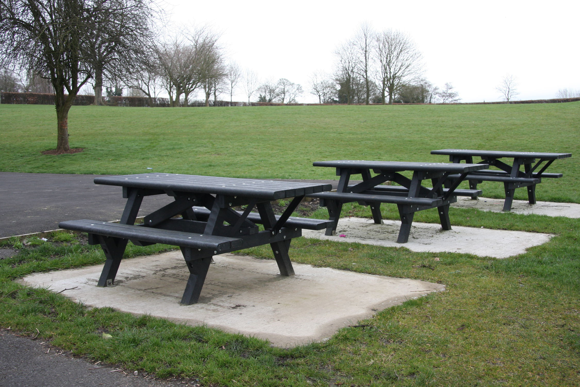 ... Traditional Picnic Table / Recycled Plastic / Composite / Rectangular  ...