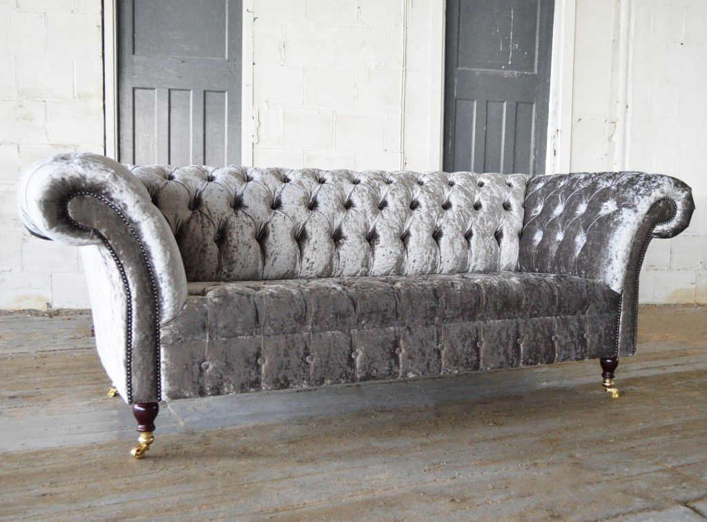 Chesterfield sofa samt  Chesterfield sofa / velvet / 2-seater / 3-seater - HARLOW - Abode ...