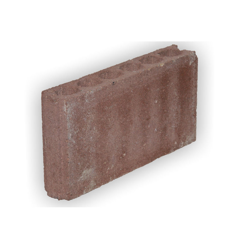 fire red walls hollow concrete block for walls acoustic fire rated klasik