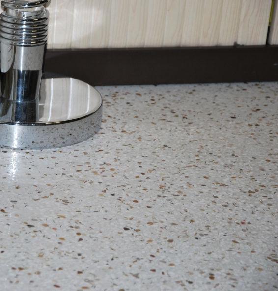 terrazzo flooring commercial industrial polished procotech - Terrazzo Flooring