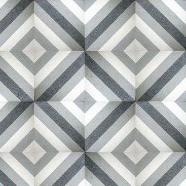 Indoor Encaustic Cement Tile Floor Geometric Pattern Tk626