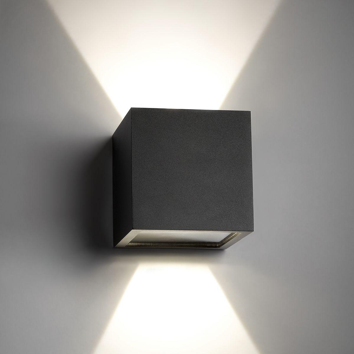Contemporary wall light glass aluminum led cube by ronni gol point contemporary wall light glass aluminum led cube by ronni gol light aloadofball Choice Image