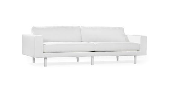 Contemporary Sofa / Leather / Fabric / 2 Person. LONG LIFE By Helene  Tiedemann Jonas Ihreborn