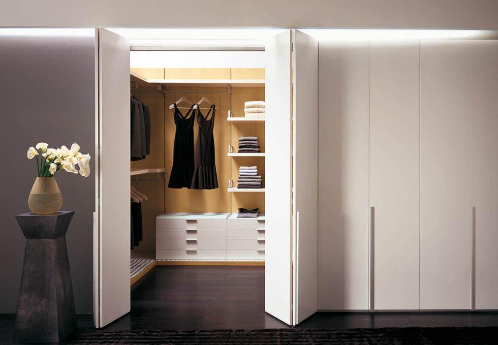Elegant Indoor Door / For Walk In Closet / Sliding / Folding   PORTALE