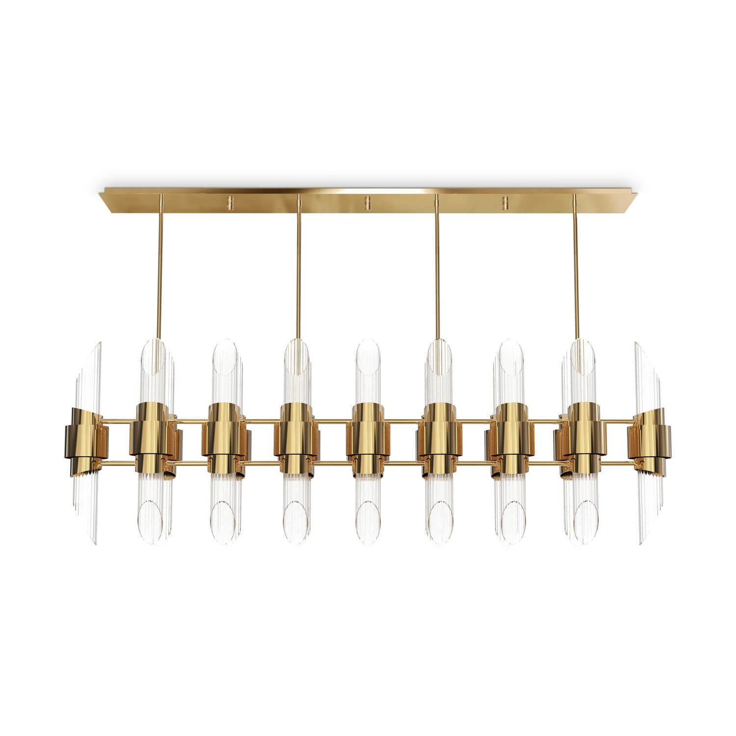 Contemporary chandelier crystal brass tycho rectangular contemporary chandelier crystal brass tycho rectangular aloadofball Images