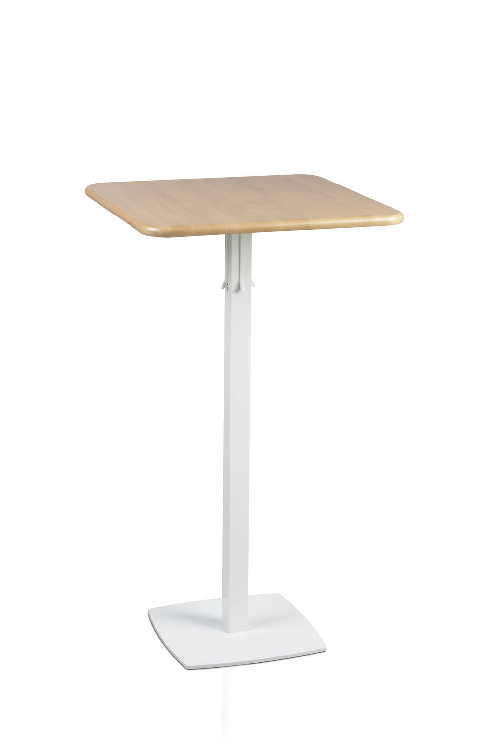 contemporary bistro table  glass  mdf  beech  totem  talin spa -  contemporary bistro table  glass  mdf  beech totem talin spa
