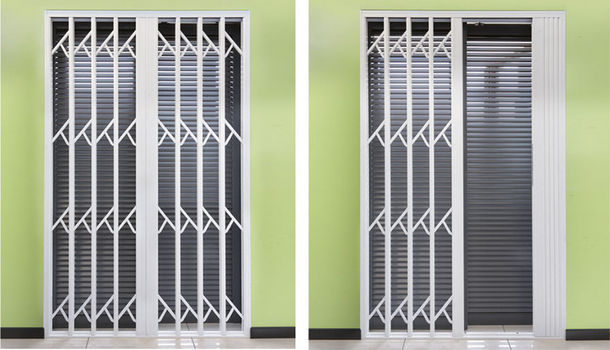 ... Extendable Security Grill / For Store Fronts / For Doors / For Windows  ...