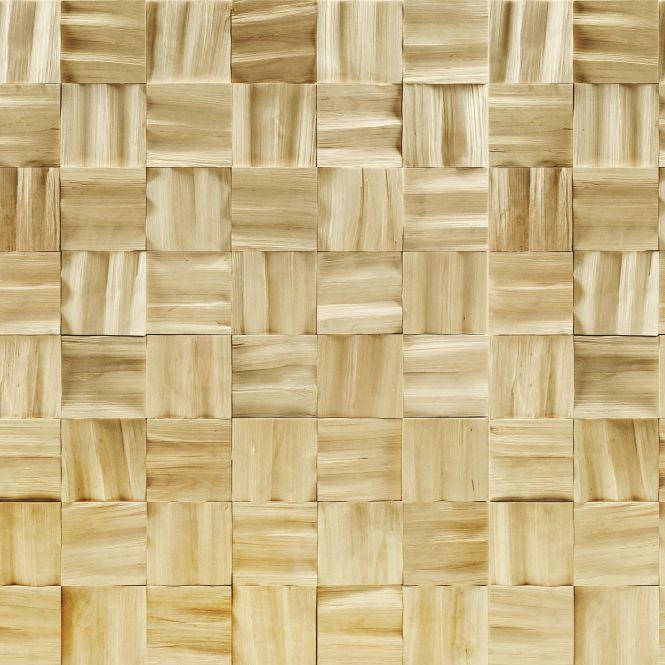 Wooden wall cladding / interior / textured / decorative - BIRCH ...