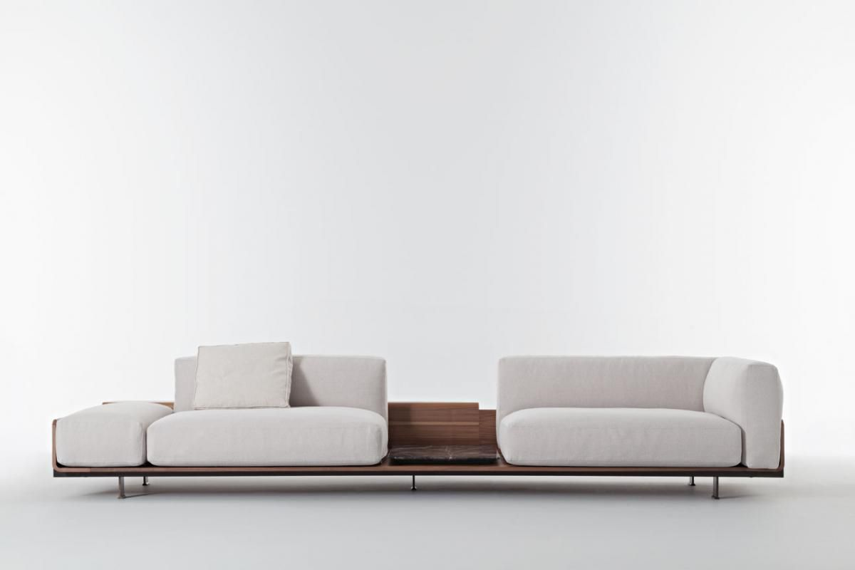 Modular Sofa / Contemporary / Fabric / Leather   POSITANO