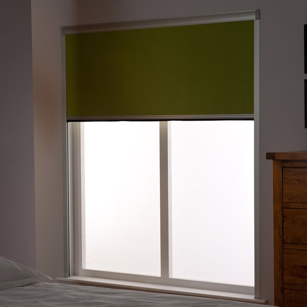 Roller blinds / fabric / chain-operated / blackout BLOCOUT Bloc Blinds