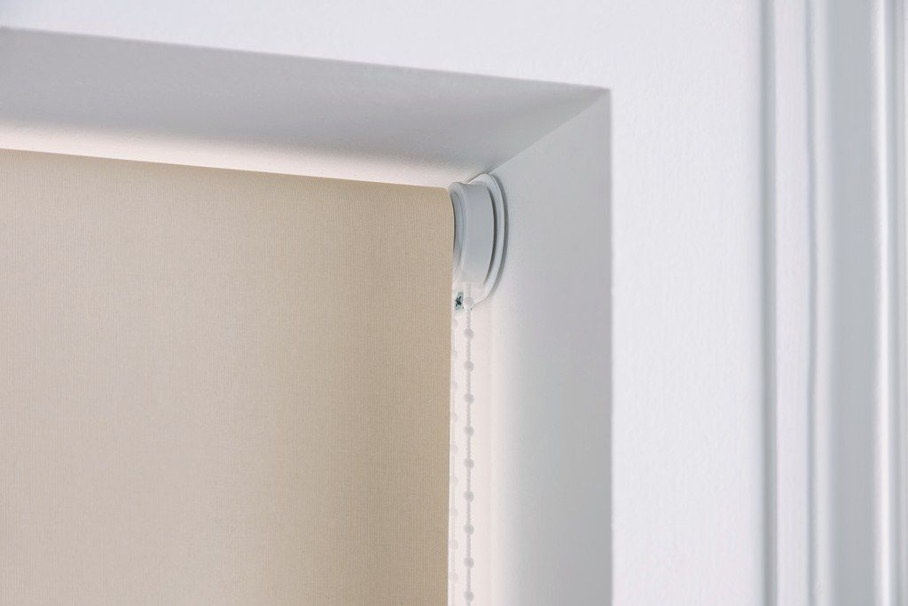 Roman Opening System For Blinds Roller Chain Operated Blackout