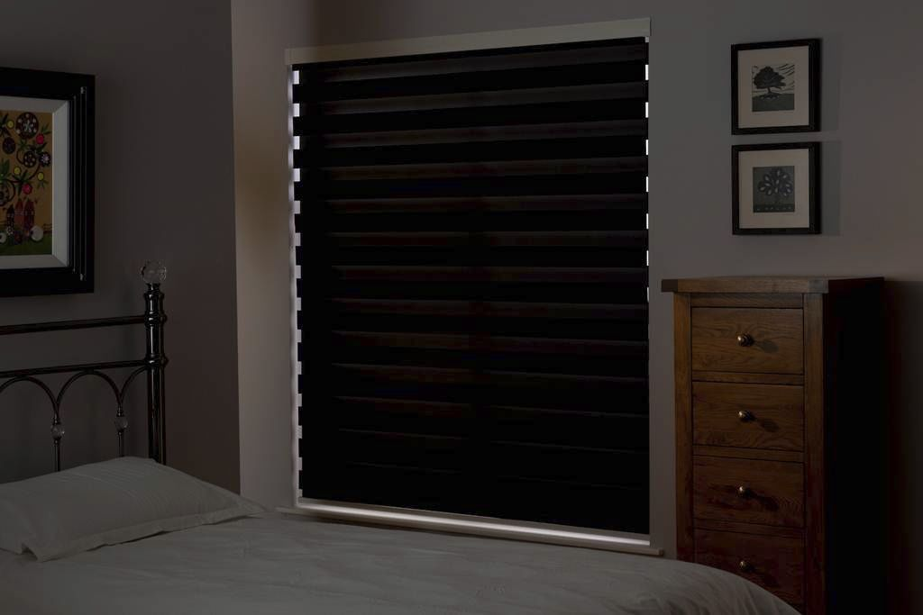 roller blinds fabric blackout premium zebra bloc blinds