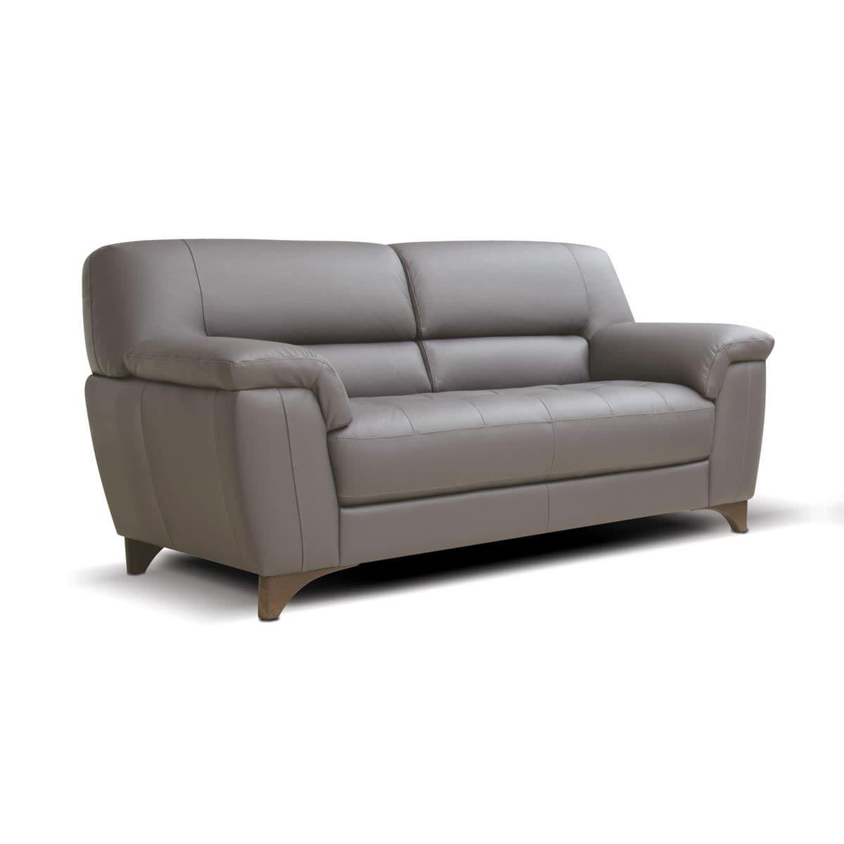 Contemporary sofa / leather / 2-person / 3-seater - ROSSINI : ANGELA ...