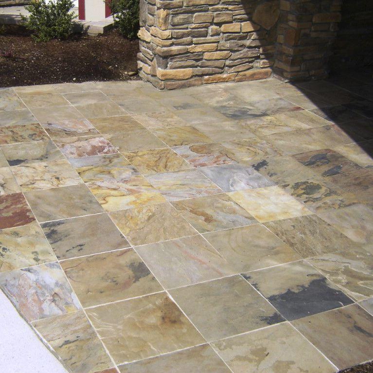Slate Stone Slab Matte For Floors Indian Autumn Asian Stones