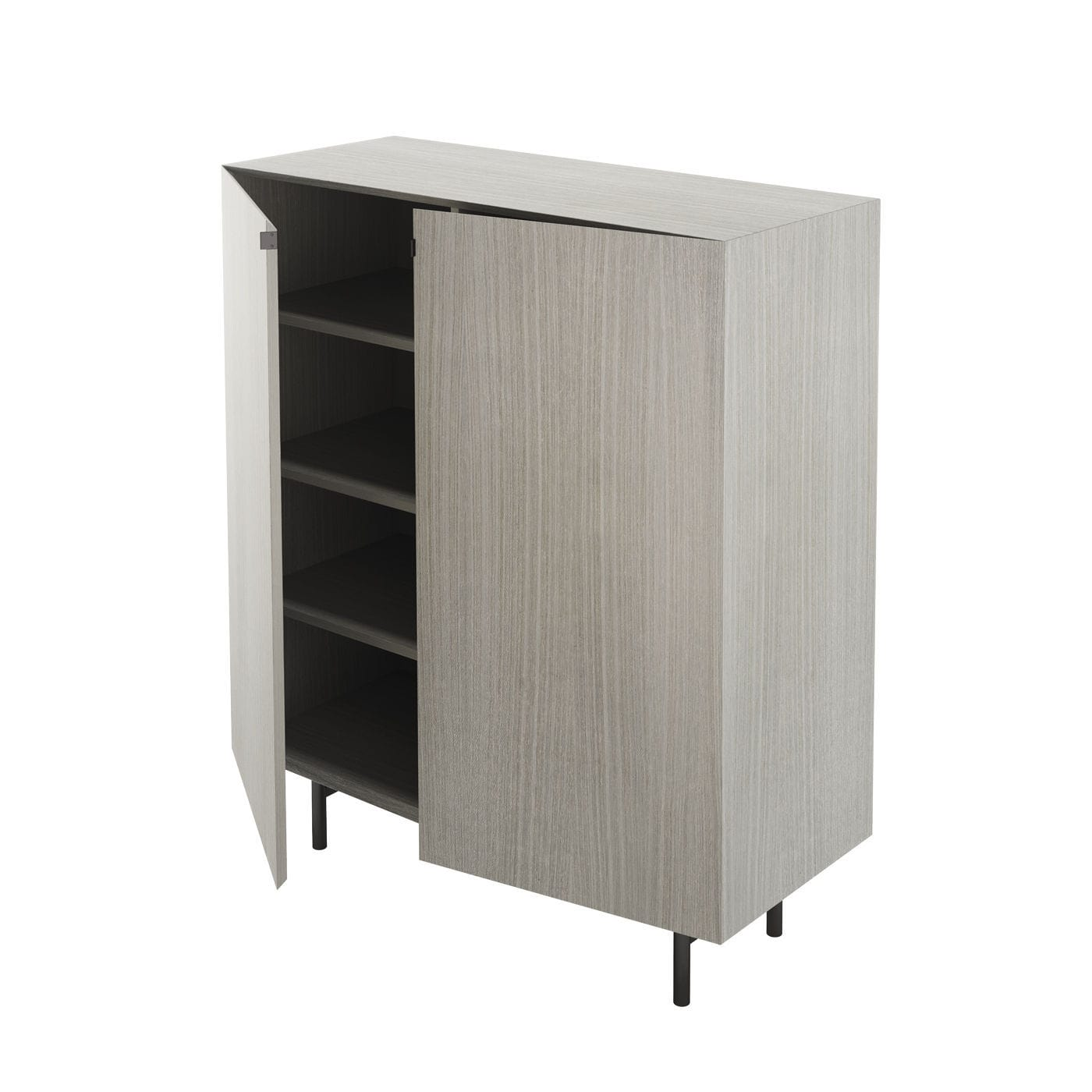 ... Tall Filing Cabinet / Wooden / Metal / With Hinged Door