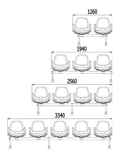 metal beam chair fabric 3 seater 4 seater torino cinza omp Steel I -beam Construction metal beam chair fabric 3 seater 4 seater