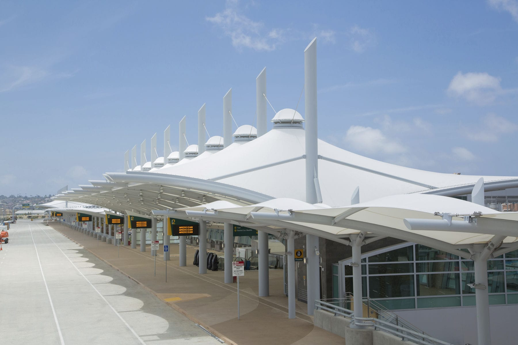 ... PTFE architectural membrane / for tensile structures / for public spaces / for entrance canopies SAN & PTFE architectural membrane / for tensile structures / for public ...
