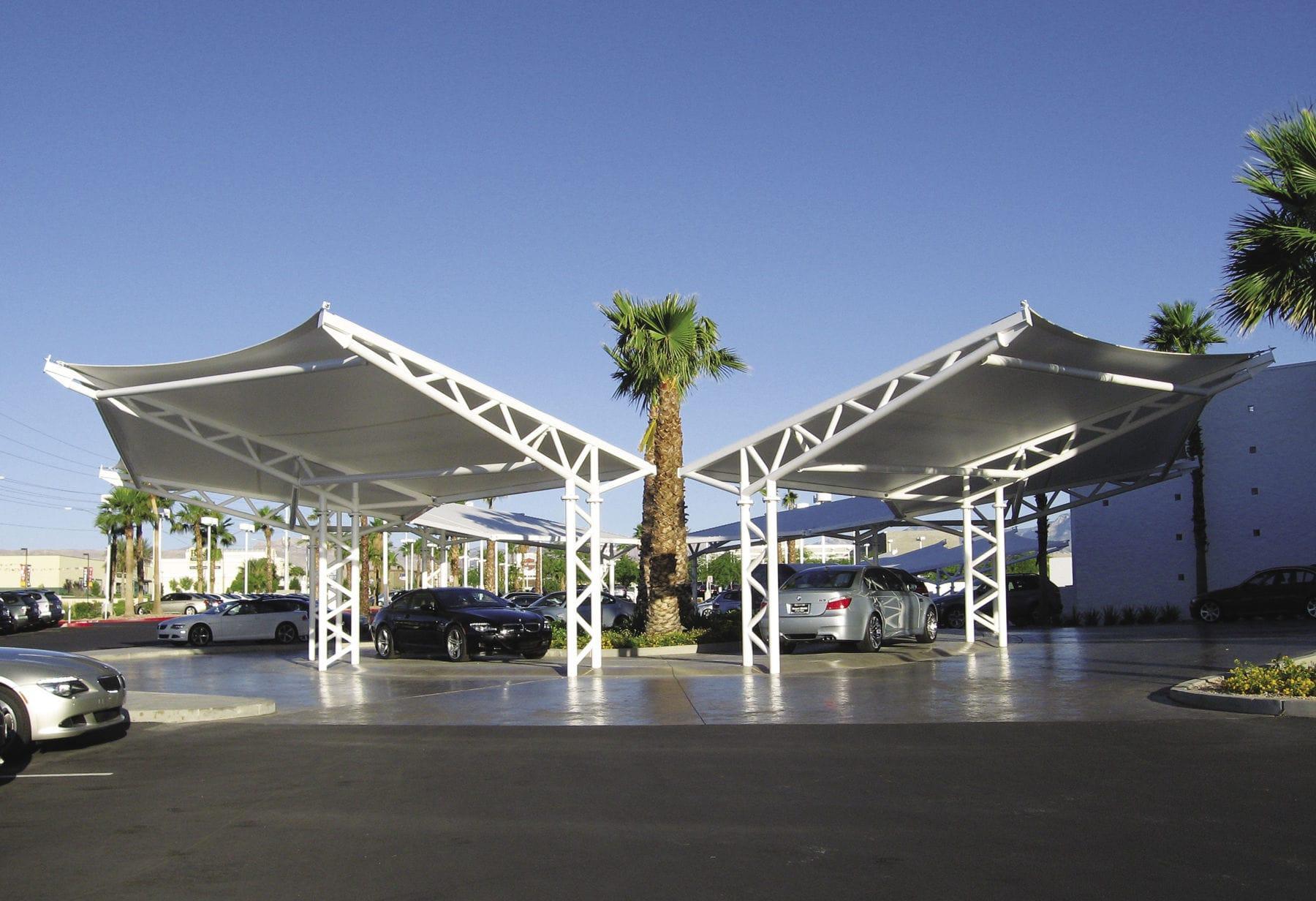 Steel Carport Commercial Autonation Desert Bmw Of Las Vegas