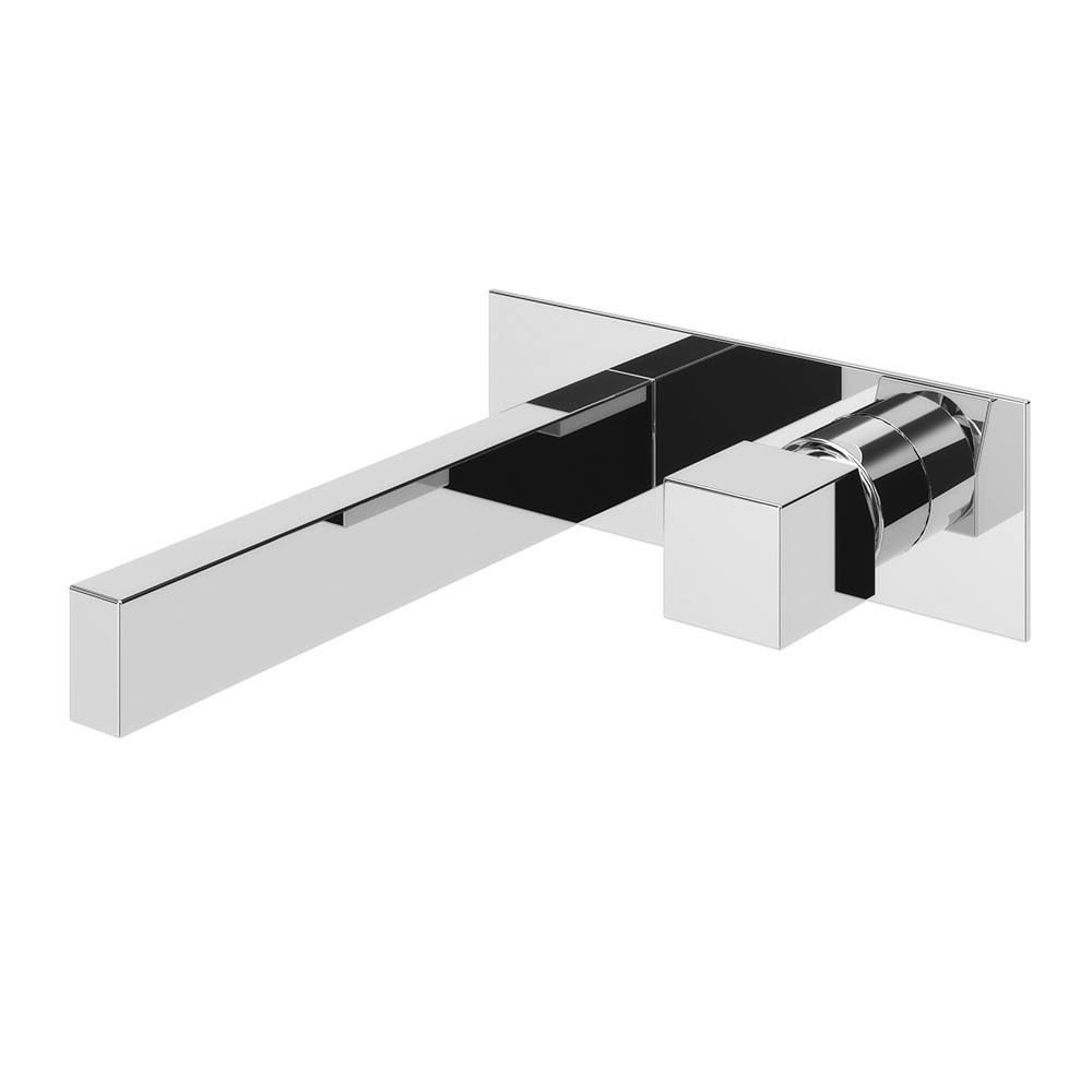 Washbasin mixer tap / built-in / chrome-plated brass / bathroom ...