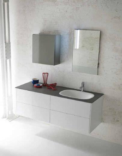 Contemporary bathroom / stone - AL02 - IDEAL BAGNI