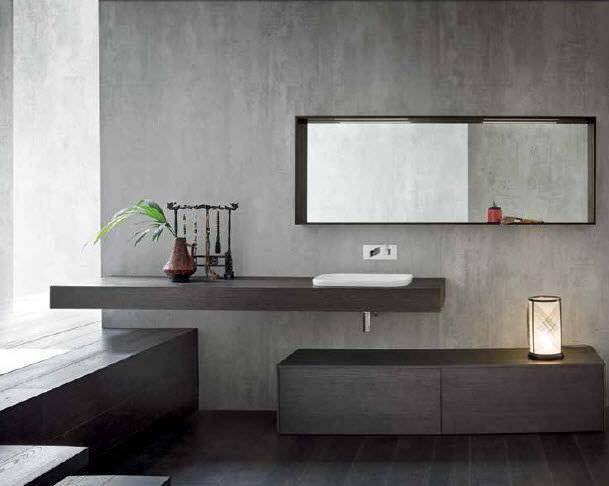 Oak vanity top - MG02 - IDEAL BAGNI