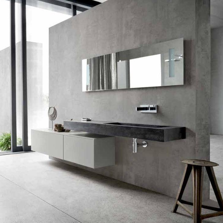 Bathroom base cabinet / wall-mounted - MG05 - IDEAL BAGNI