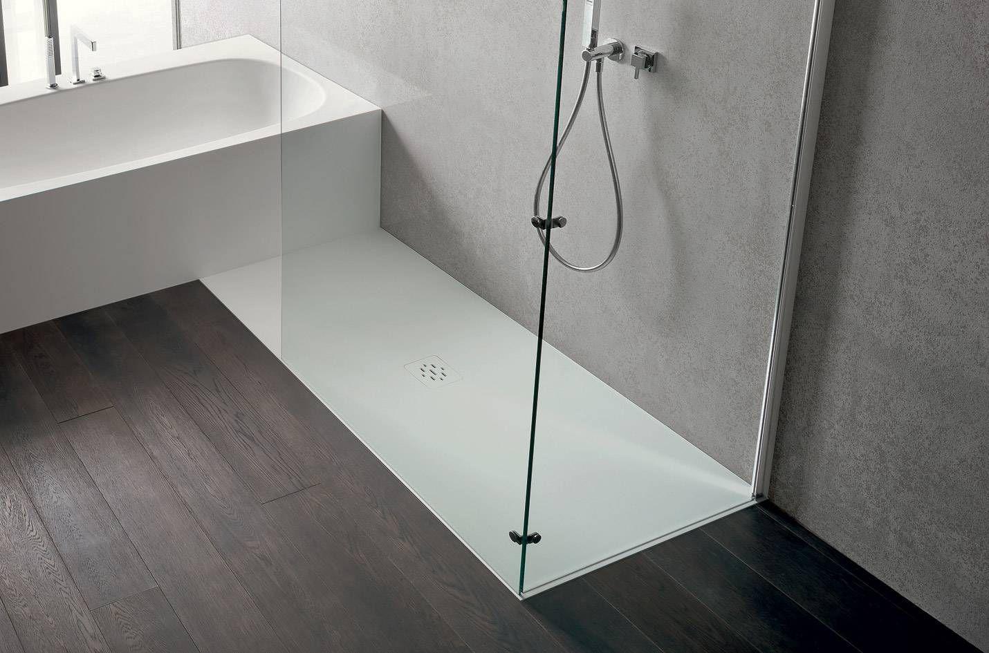 Rectangular shower base / composite - MARTINI TECNORIL - IDEAL BAGNI