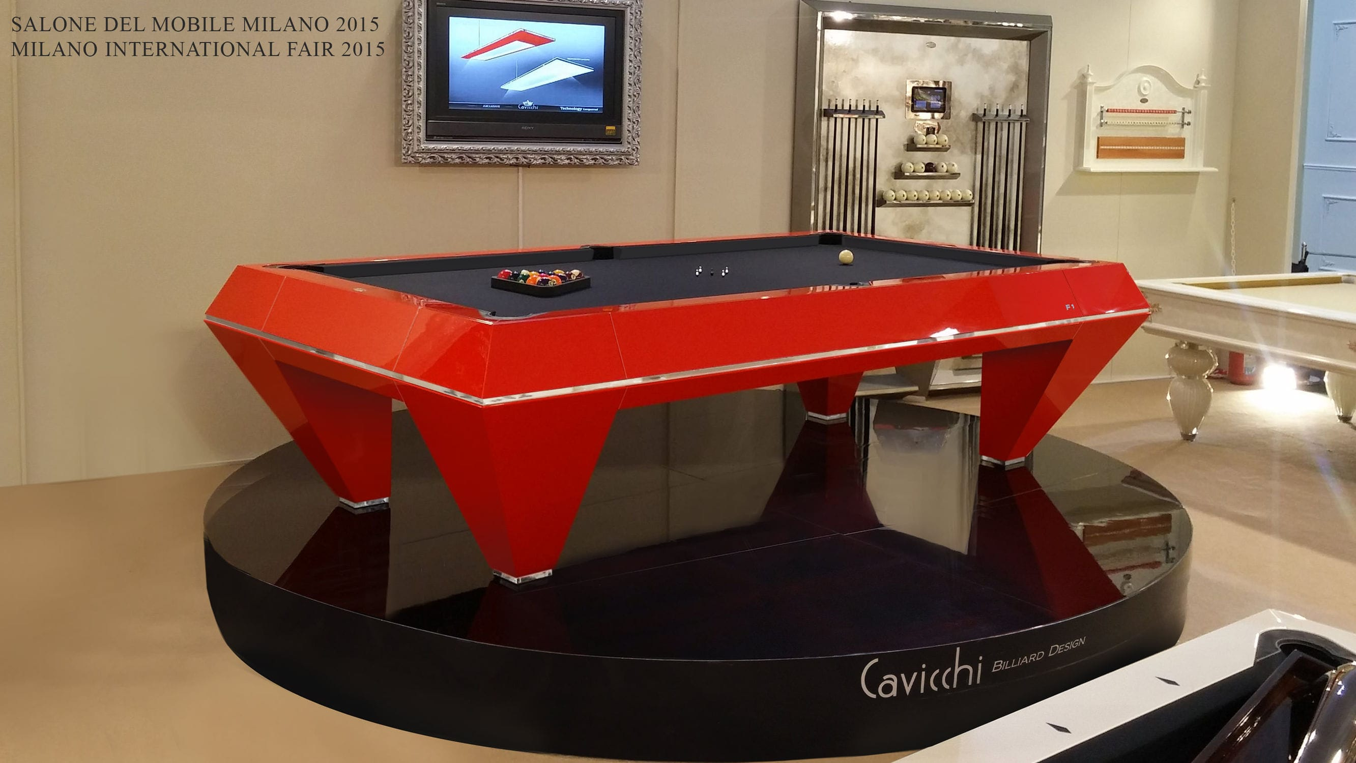 Contemporary Pool Table F SCUDERIA Biliardi Cavicchi Di - Milano pool table