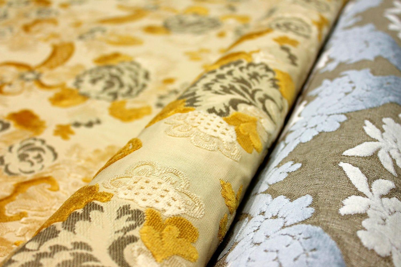 Upholstery Fabric Patterned Velvet Erreerre My Domus Srl