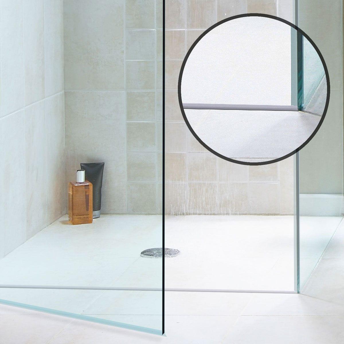 Acrylic edge trim / for showers - SHOWER THRESHOLD - JKB Group