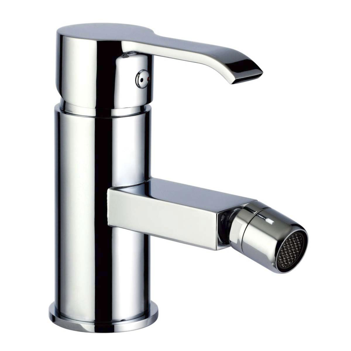 bidet mixer tap / chrome-plated brass / bathroom / 1-hole