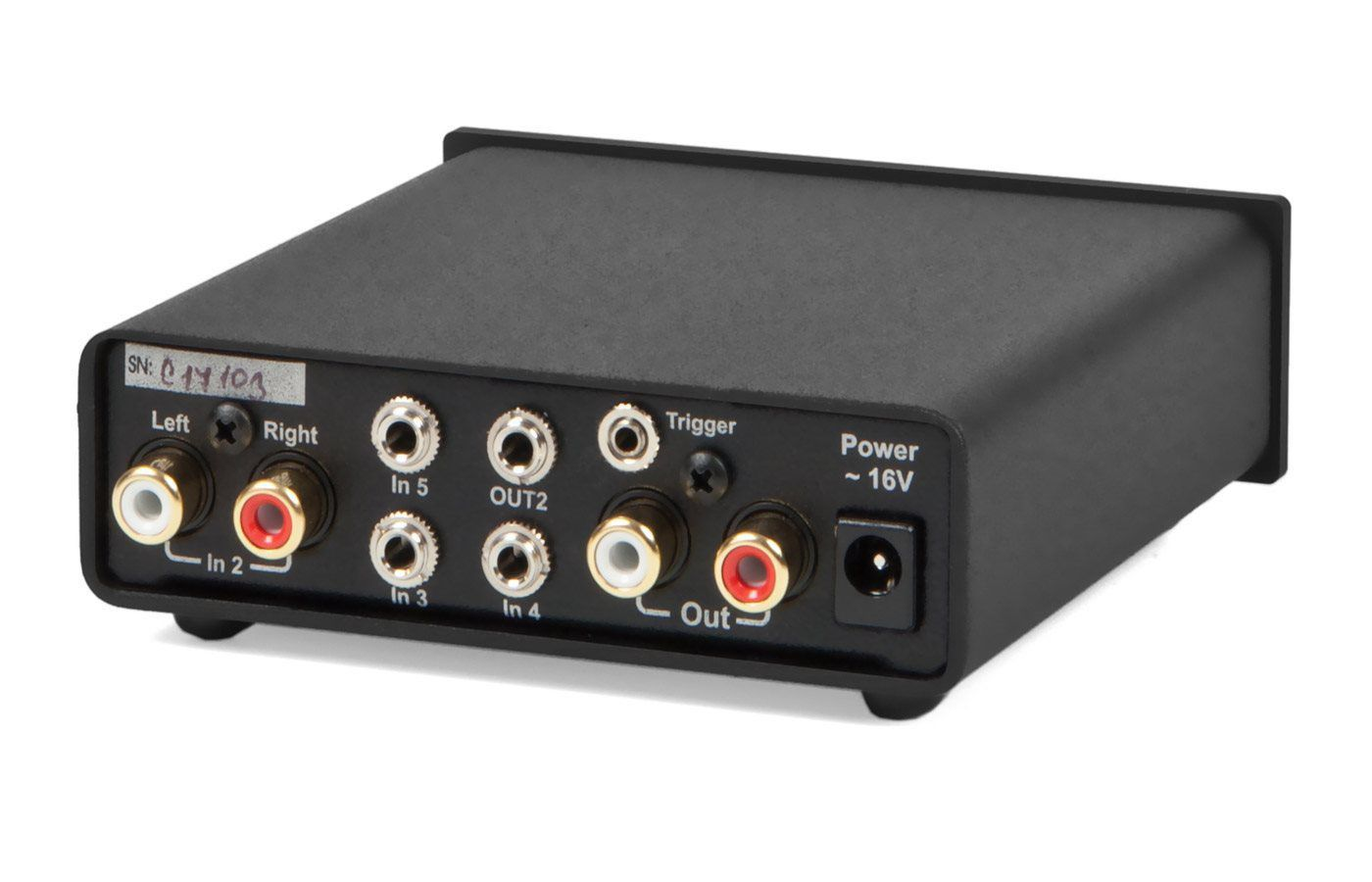 Audio amplifier - SWITCH BOX S - Pro-Ject AUDIO SYSTEMS