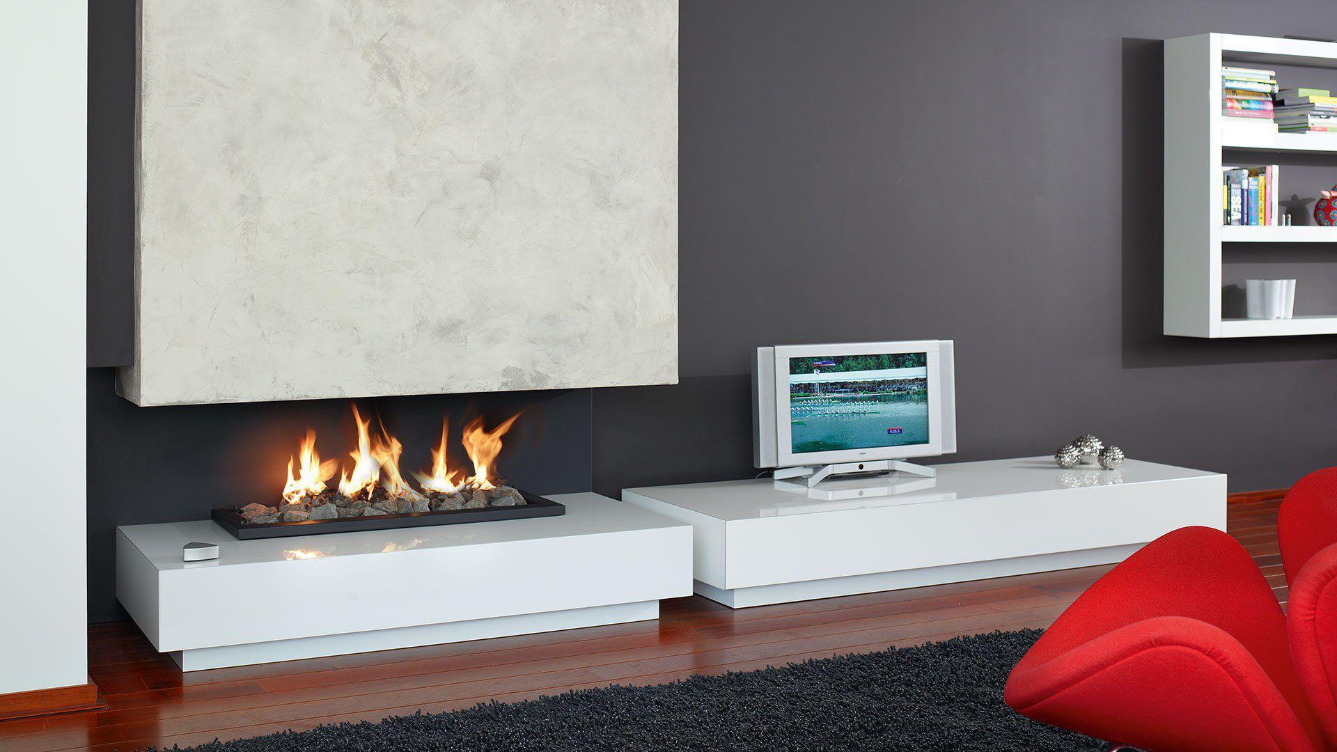 built gas description image in home fireplace