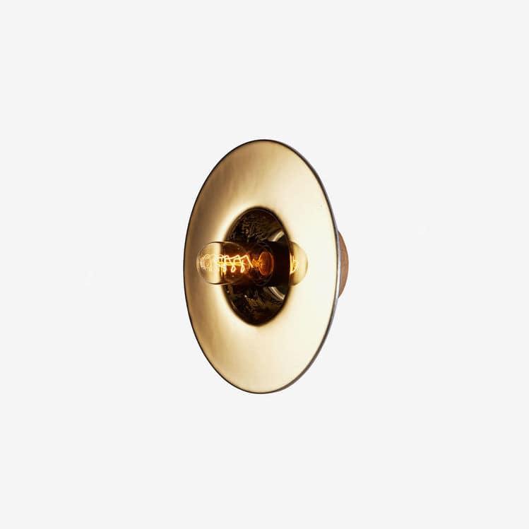 Contemporary wall light / glass / round - ALVEOLE - RADAR