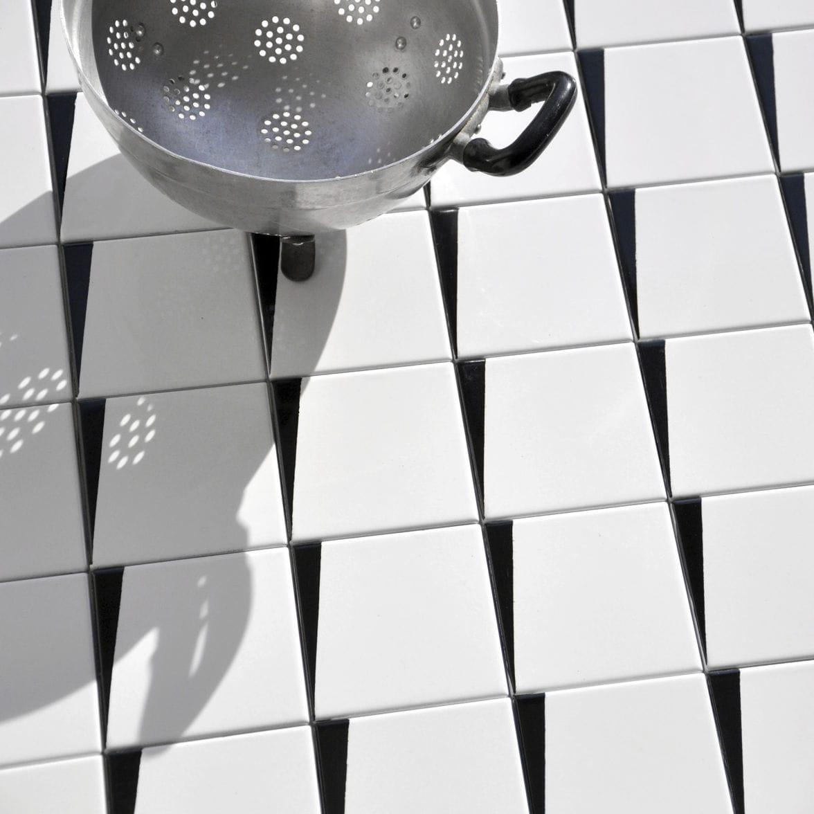 Indoor tile / floor / terracotta / enameled lava - CUNEI CN 1 WORK ...