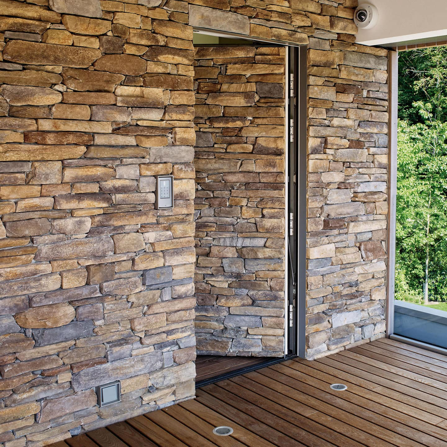 stone wall cladding / outdoor / indoor / 3D - LEDGE : MODERNO & Stone wall cladding / outdoor / indoor / 3D - LEDGE : MODERNO ...