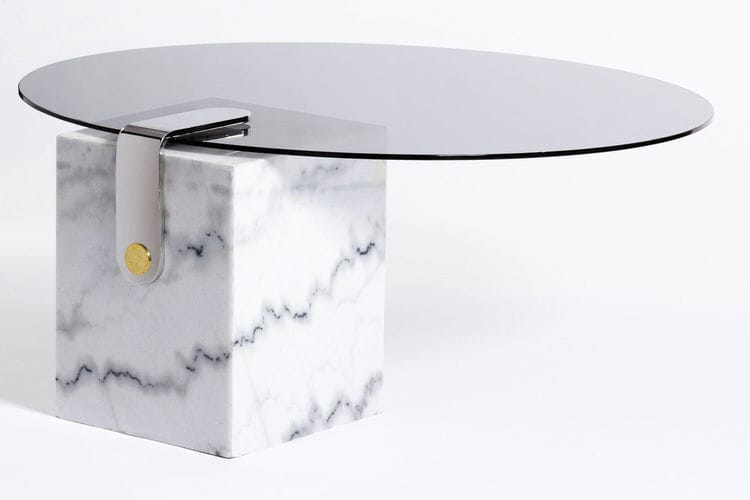 egg designs furniture. Contemporary Coffee Table / Glass Marble Brass - PATCH Egg Designs Furniture