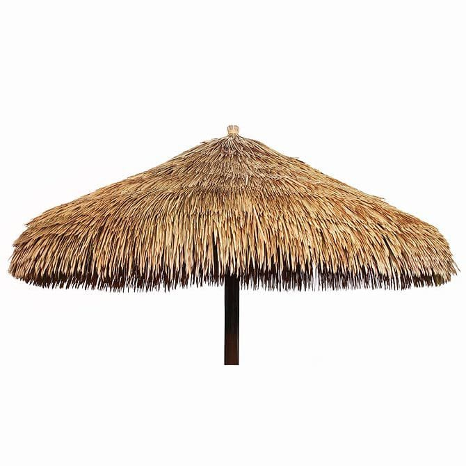 Merveilleux Commercial Thatched Patio Umbrella   VIROUMBRELLA BALI SMOOTH