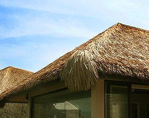 ... Synthetic Thatch Roofing / Waterproof HIP U0026 EAVE Virobuild ...